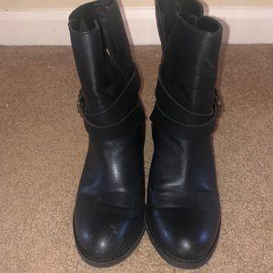 JCrew black ankle boots!